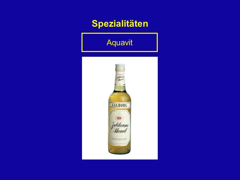 Spezialitäten Aquavit