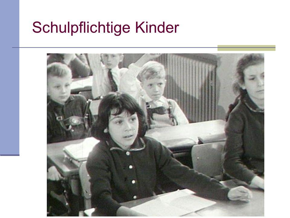 Schulpflichtige Kinder
