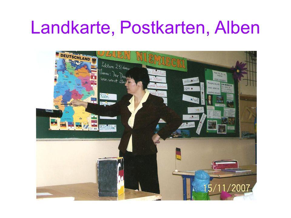 Landkarte, Postkarten, Alben