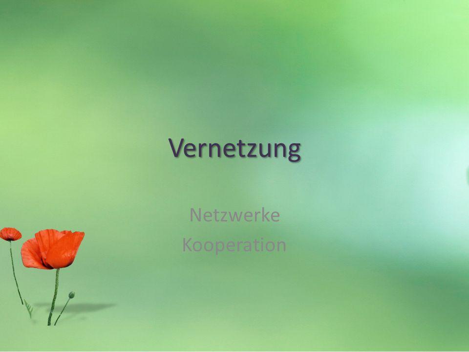 Netzwerke Kooperation Vernetzung