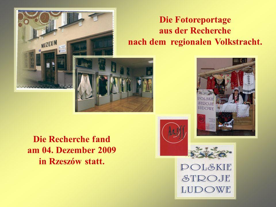 Die Fotoreportage aus der Recherche nach dem regionalen Volkstracht.