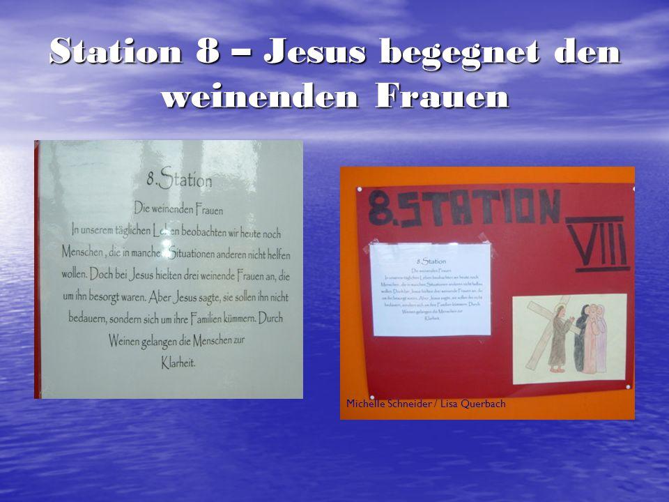 Station 9 – Jesus fällt zum dritten Mal Markus Rodewald / Jerome Hilcher / Jan Nicolas Gantner