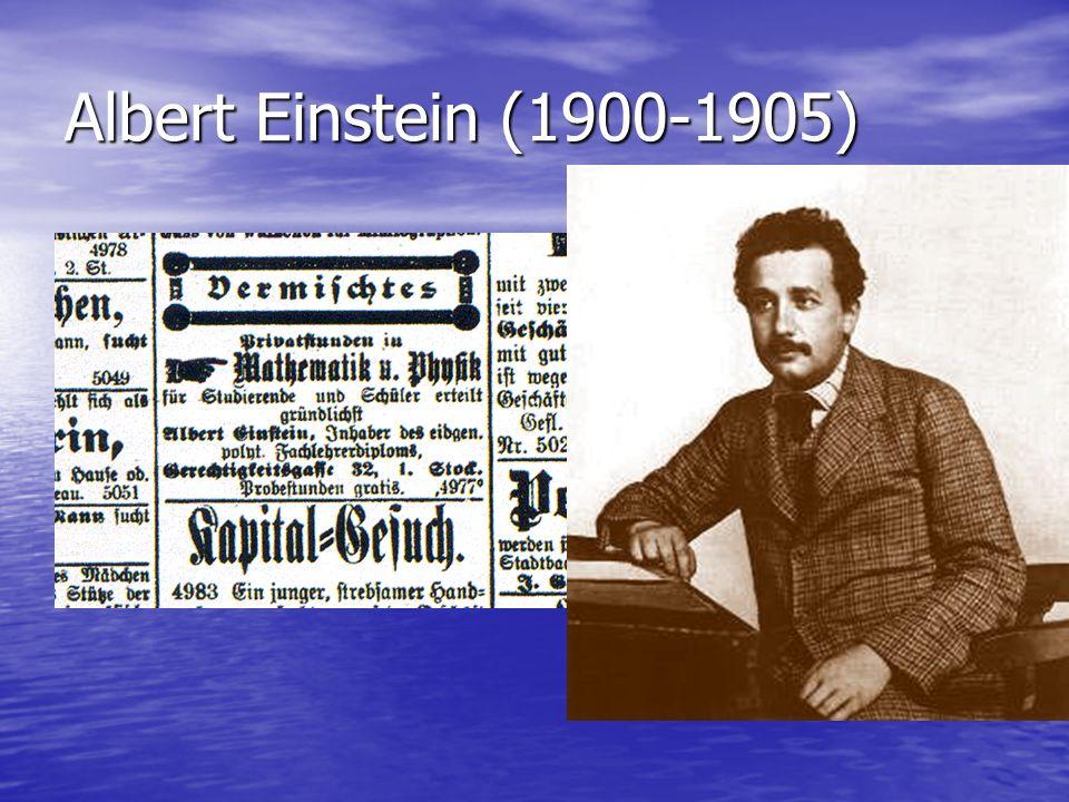 Albert Einstein (1900-1905)