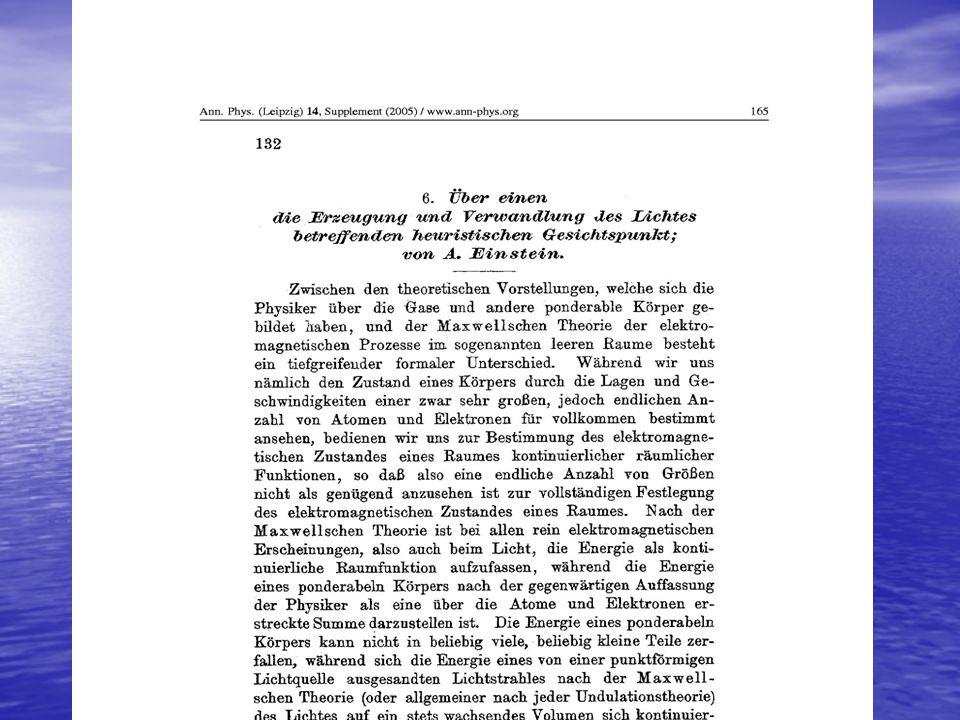 Albert Einstein, Max Planck Dass er in seinen Spekulationen gelegentlich auch einmal über das Ziel hinausgeschossen haben mag, wie z.