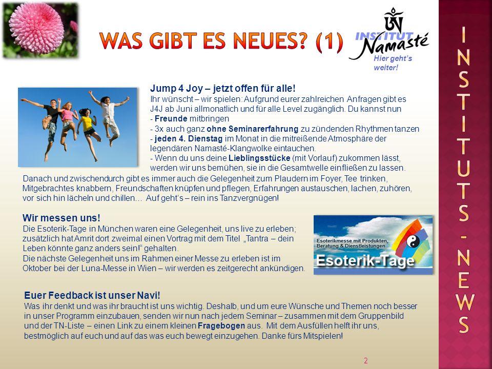 2 Jump 4 Joy – jetzt offen für alle! Ihr wünscht – wir spielen: Aufgrund eurer zahlreichen Anfragen gibt es J4J ab Juni allmonatlich und für alle Leve