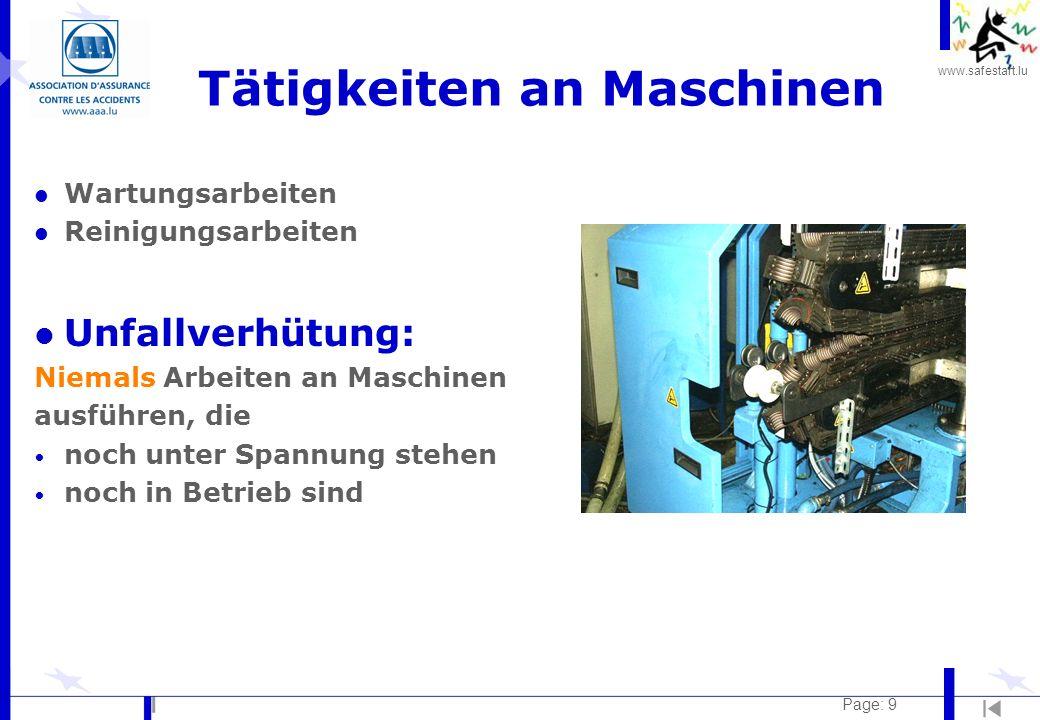 www.safestart.lu Page: 20 Lärm