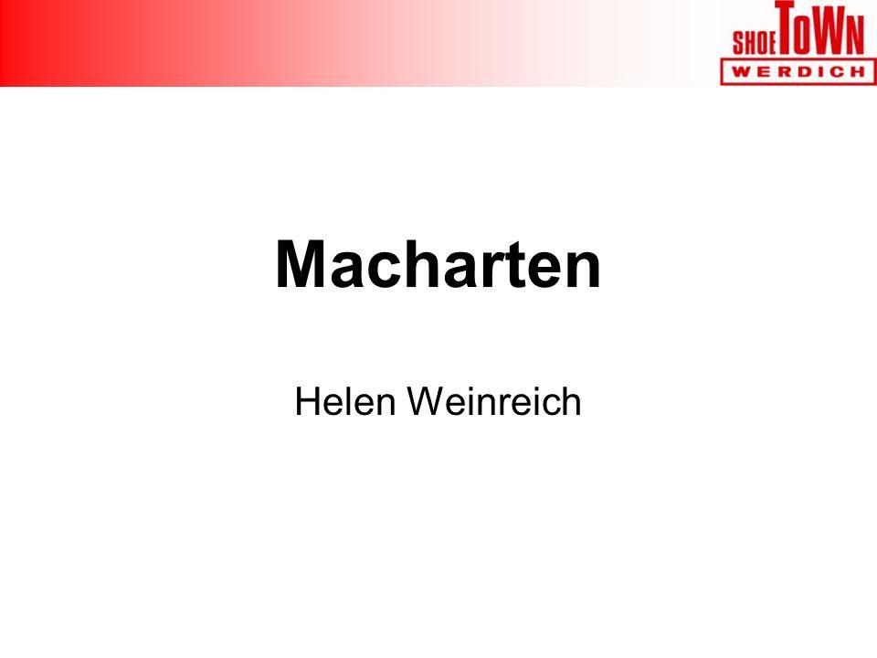 Helen Weinreich Macharten