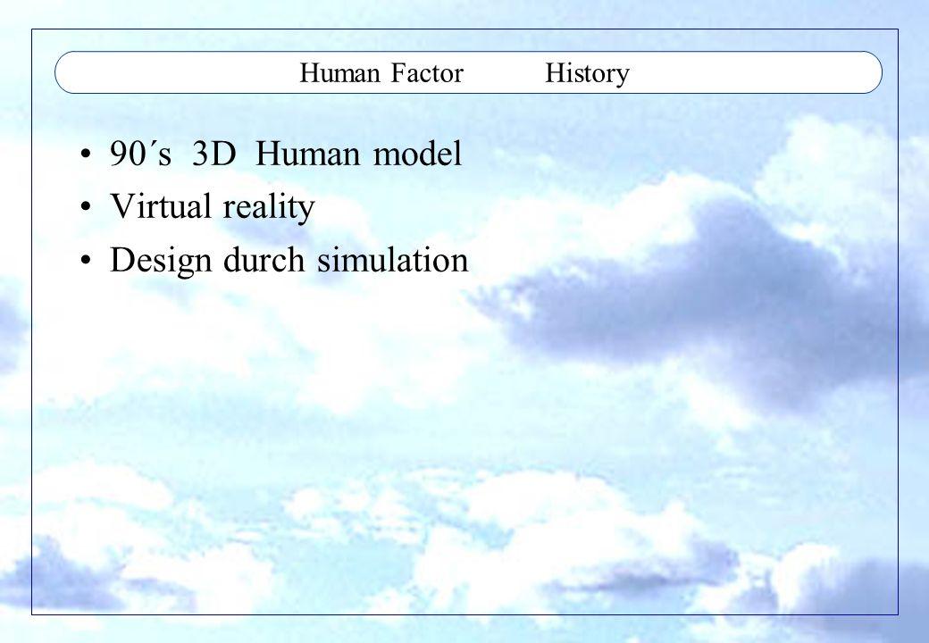 Human Factor Beispiele/Stichworte Steht nicht alles direkt in Bauvorschrift, kann man nicht einfach abhacken Basic in Bauvorschrift (Cooking Book), Controls shape, color, reaction....