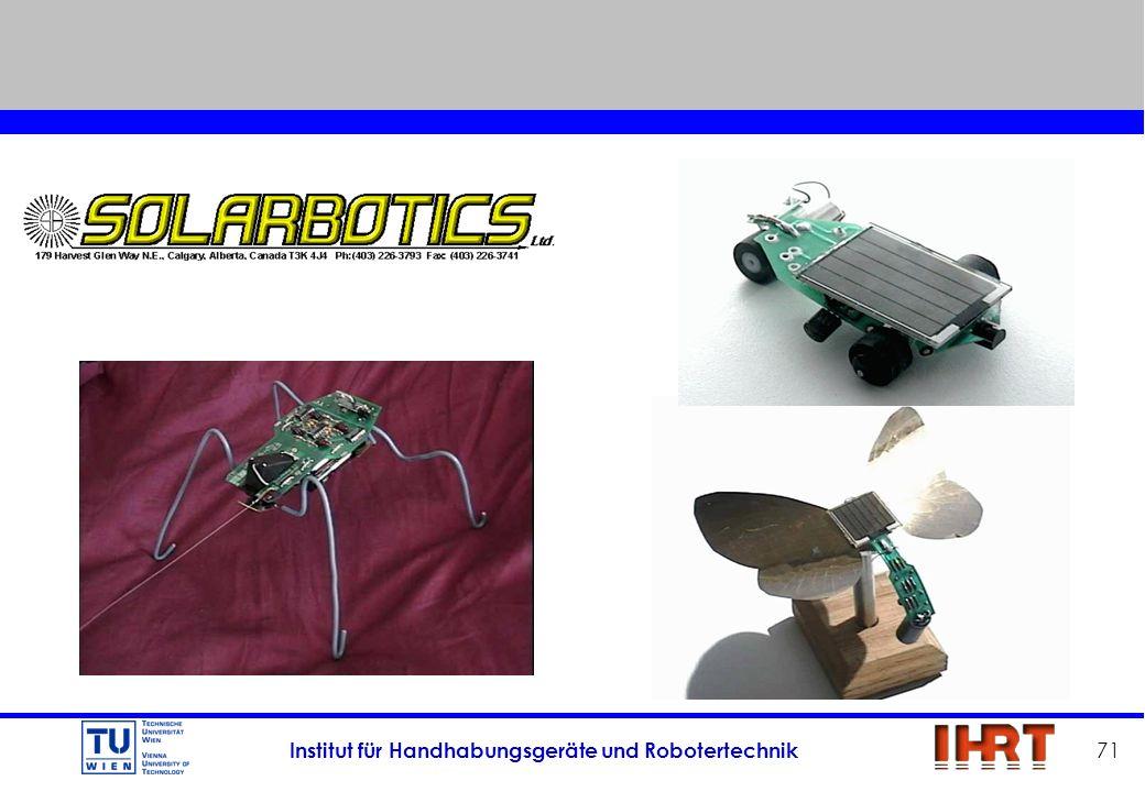Institut für Handhabungsgeräte und Robotertechnik 71