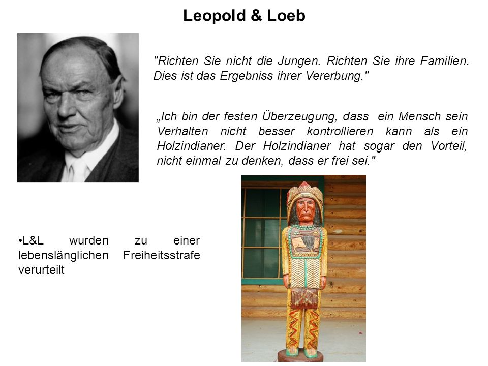 Leopold & Loeb Das Verbrechen inspirierte Alfred Hitchcock zu seinem Film Rope (Cocktail für eine Leiche, 1948).