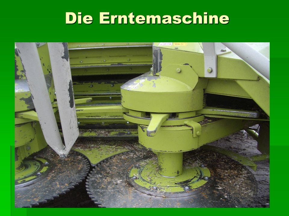 Die Erntemaschine