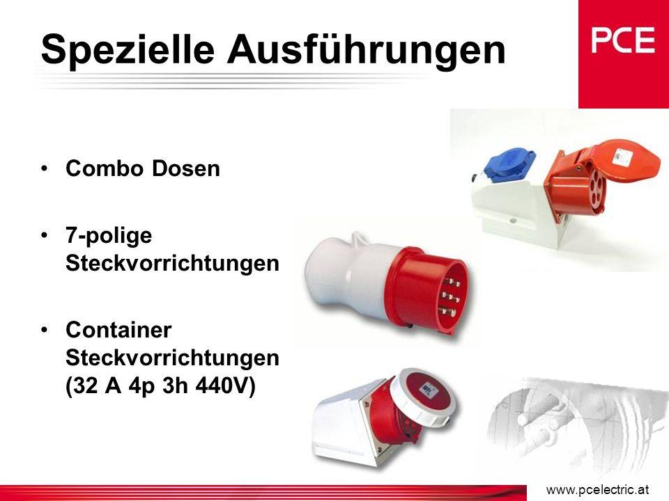 www.pcelectric.at Phasenwender >50V Phasenwender erlauben eine schnelle Änderung der Drehrichtung der Drehmotoren.
