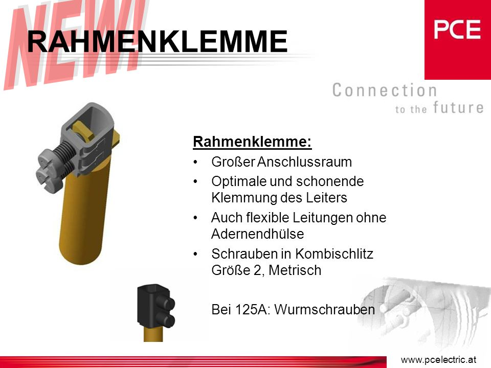 LAMELLENFEDER Lamellenfeder: Optimale Kontaktierung Selbstreinigend Geringe Steck- und Ziehkräfte Geringer elektrischer Widerstand