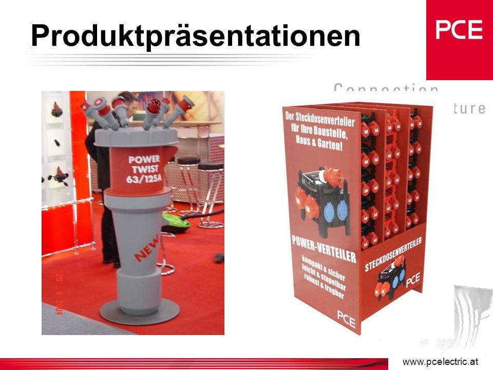 www.pcelectric.at Messetermine 2005 –14. – 15. 04. 2005: POWER DAYS, Graz –21. – 22. 04. 2005: POWER DAYS, Salzburg –27. – 29. 04. 2005: POWER DAYS, W
