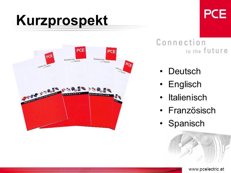 www.pcelectric.at Informationsmaterial Hauptkatatlog 2004/05 Deutsch Englisch Italienisch