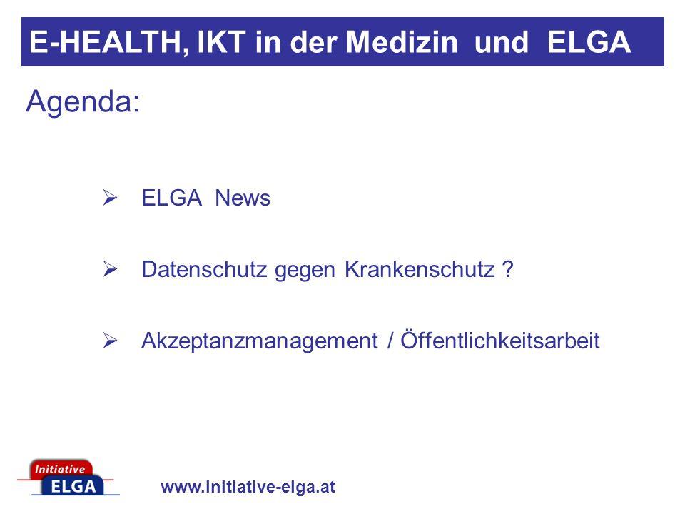 www.initiative-elga.at ELGA News 6.