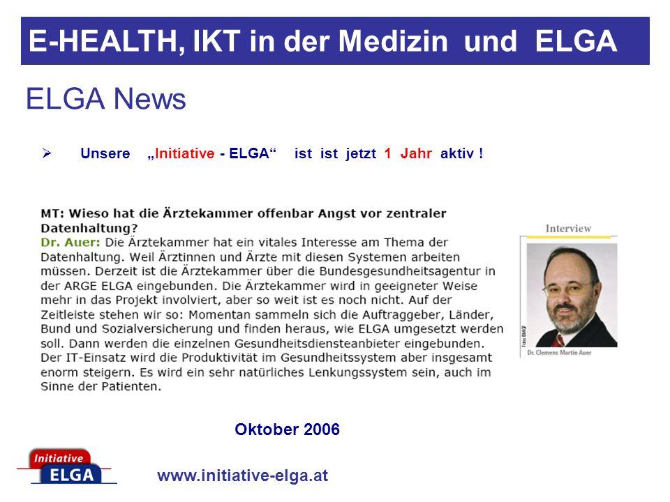 www.initiative-elga.at Datenschutz gegen Krankenschutz Versicherungsschutz wird unmöglich: Der Datenschutz stellt auch die Weitergabe von Informationen an die private Krankenversicherung in Frage.
