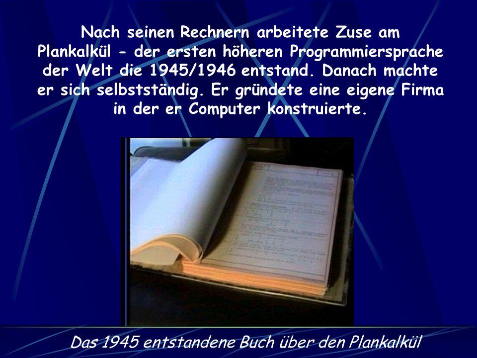 1950 wurde die Z4 aus ihrem Versteck geholt und an der ETH Zürich aufgestellt und leicht verbessert. Sie war damals der einzige funktionierende Comput