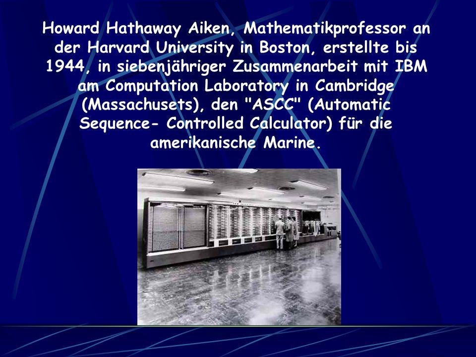 Das Gerät wurde unter strenger Geheim- haltung gebaut und 1946 wieder demontiert und somit vernichtet.