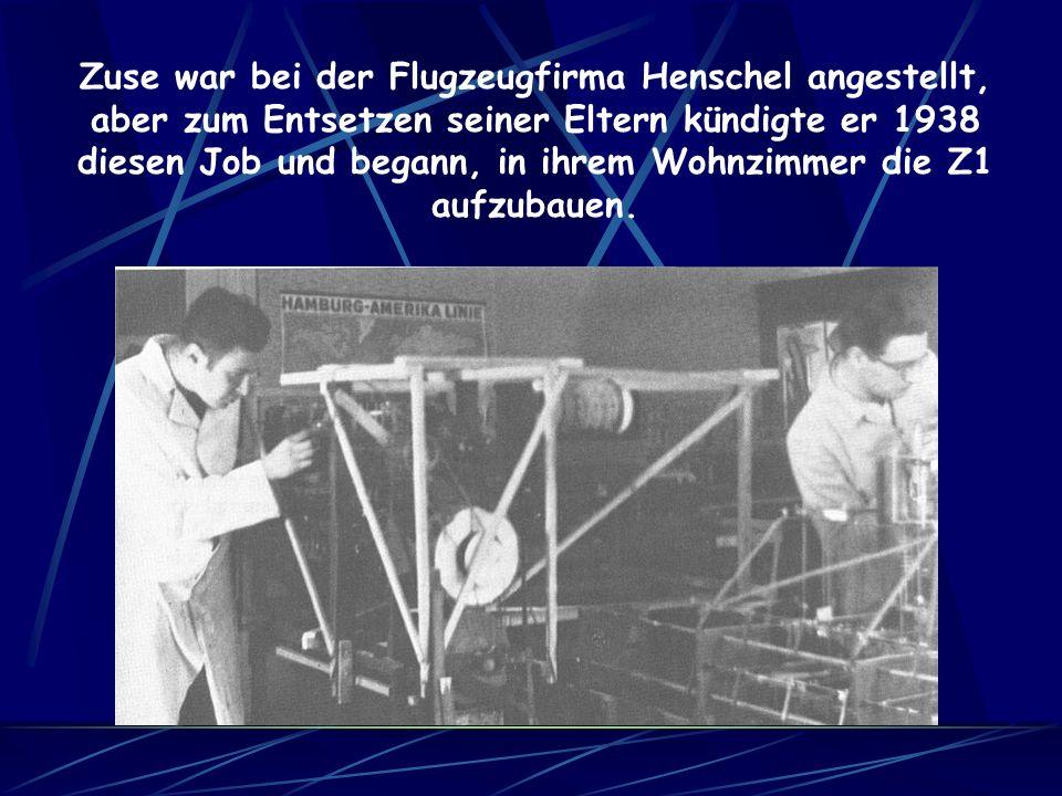 1950 wurde die Z4 aus ihrem Versteck geholt und an der ETH Zürich aufgestellt und leicht verbessert.