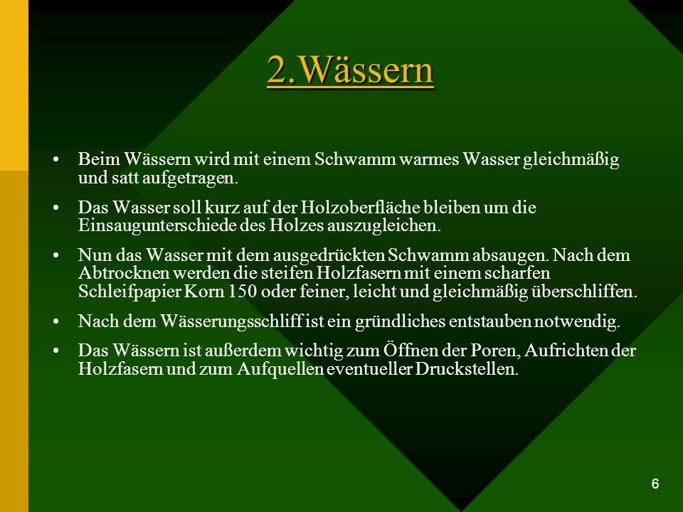 Schleifen von Hand Schleifen mit der Maschine http://www.holzexe.de