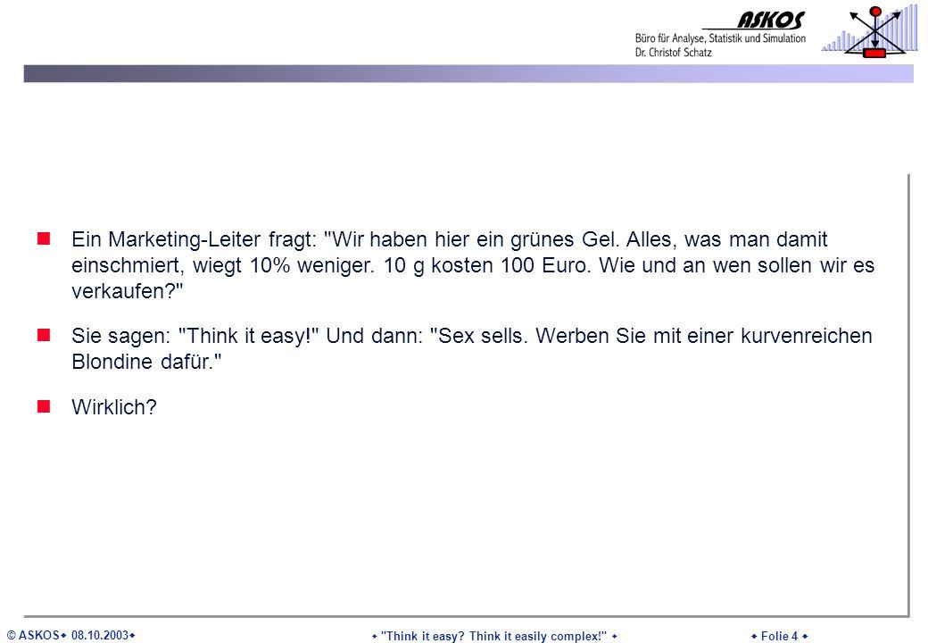 © ASKOS 08.10.2003 Folie 4