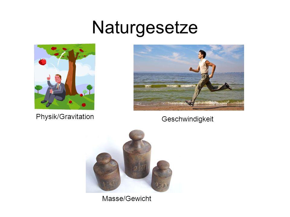 Naturgesetze Physik/Gravitation Geschwindigkeit Masse/Gewicht