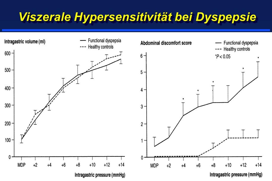 Viszerale Hypersensitivität bei Dyspepsie