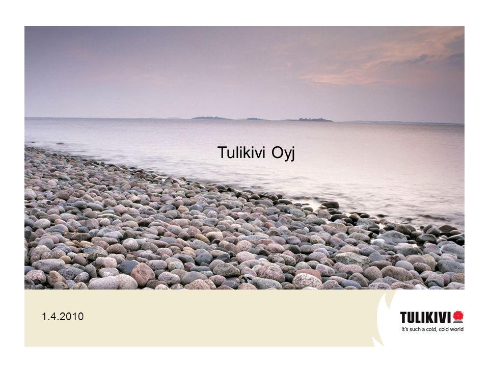1.4.2010 Tulikivi Oyj