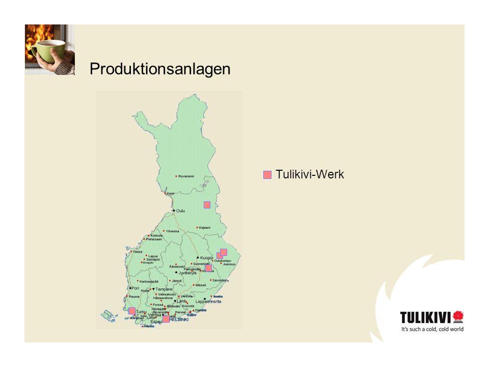 Produktionsanlagen Tulikivi-Werk