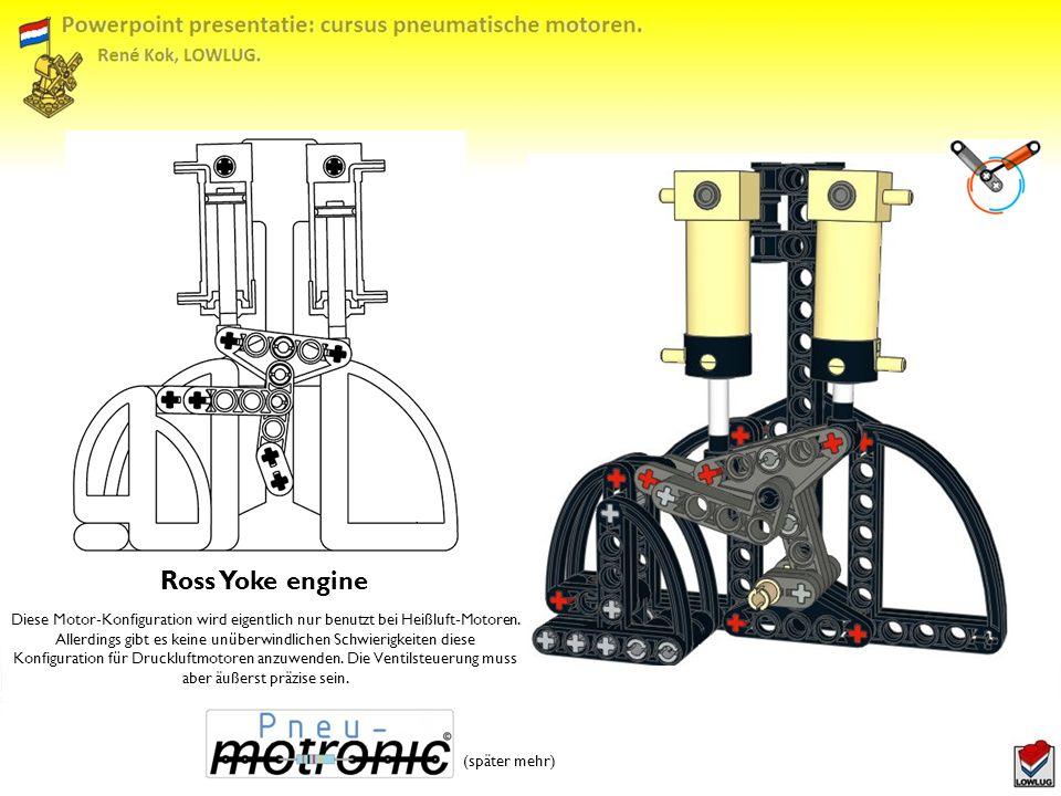 Diese Motor-Konfiguration wird eigentlich nur benutzt bei Heißluft-Motoren.