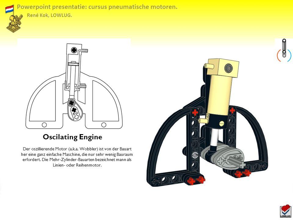 Oscilating Engine Der oszillierende Motor (a.k.a.