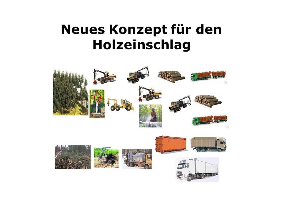 Kombinierte Maschinelle und motormanuelle Holzernte Betriebswirtschaftliche Vorteile -Hohe Leistungsfähigkeit -Flexibel einsetzbar -Möglichkeit der besseren Ver-marktung des Holzes -Bessere Sortimentssortierung -Saubere gut verkäufliche Ware -Breitere Nutzungspalette durch Energieholzsortimente Ökologische Vorteile -Bodenschonende Ernteverfahren mit Bodenschonender Technik -Verringerung der Erosionsgefahr -Verringerung der Waldbrandgefahr durch Bereinigung vom Waldrestholz -Verringerung der Gefahr zur Vermährung von Schädlingen
