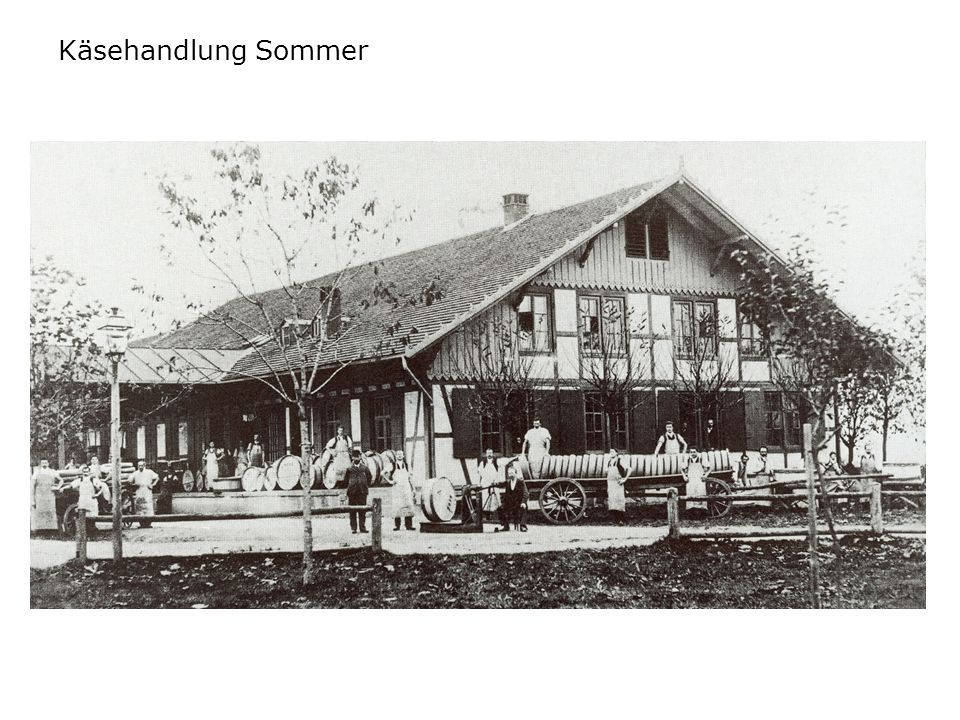 Käsehandlung Sommer