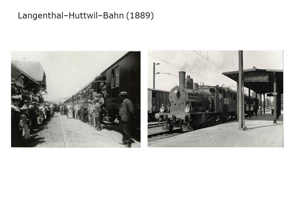 Langenthal–Huttwil–Bahn (1889)