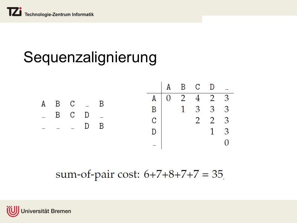 Sequenzalignierung