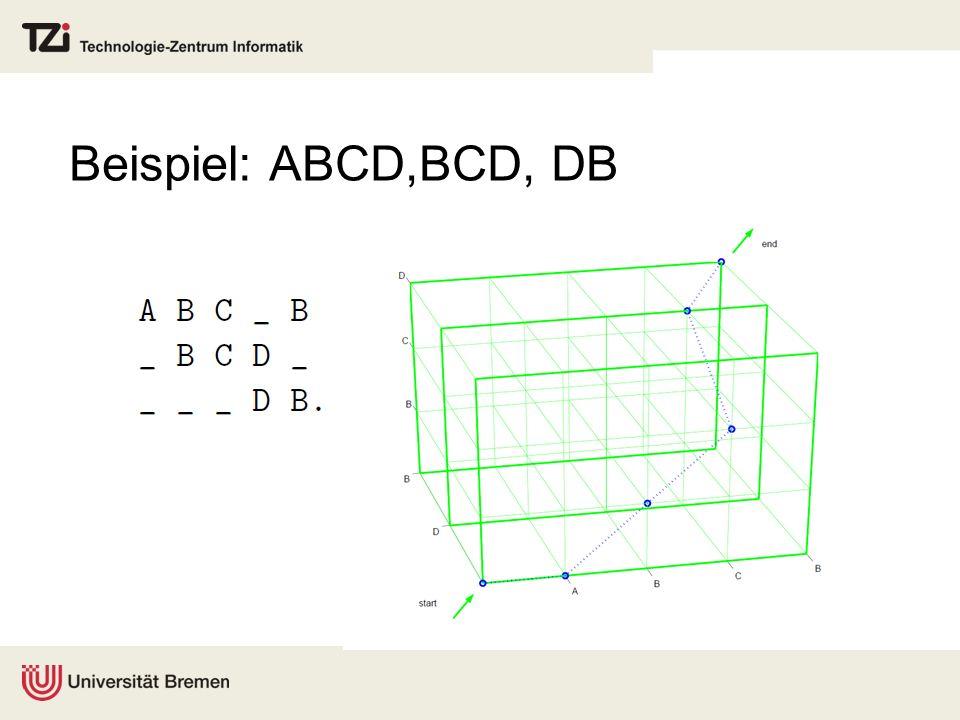 Beispiel: ABCD,BCD, DB