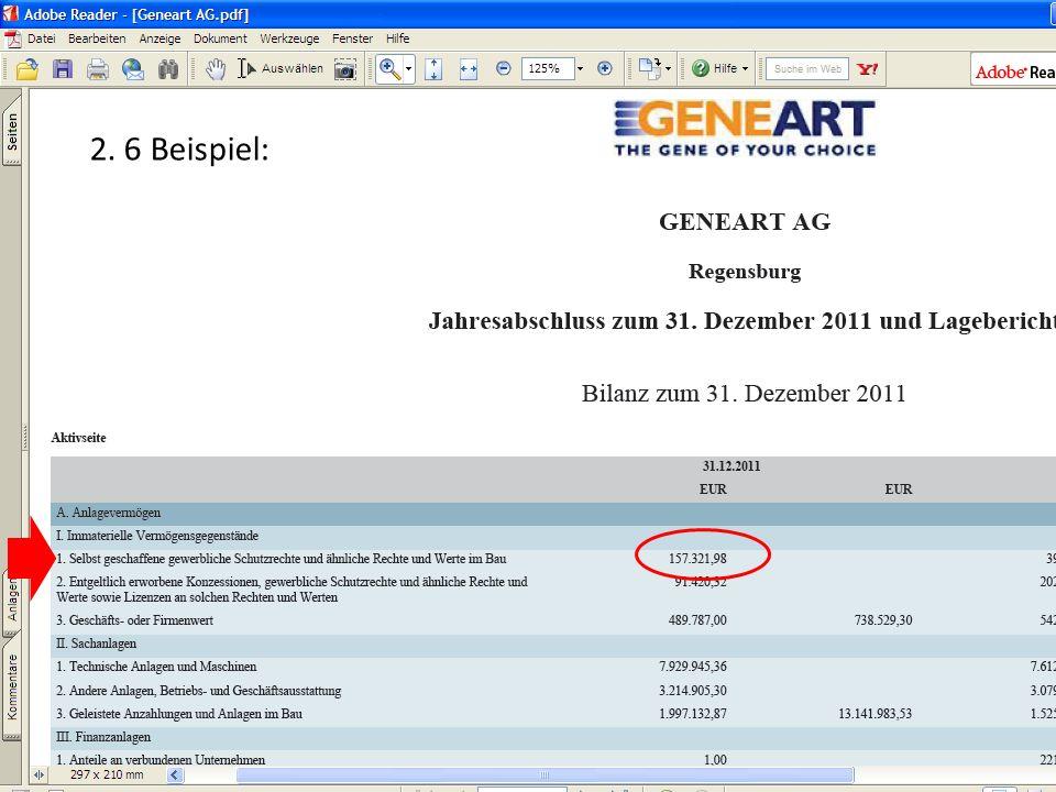 (c) Dipl.-Betriebswirtin (FH) K. Barth, Steuerberaterin 26 2. 6 Beispiel: