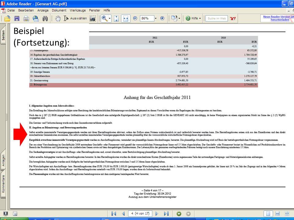 (c) Dipl.-Betriebswirtin (FH) K. Barth, Steuerberaterin 27 Beispiel (Fortsetzung):