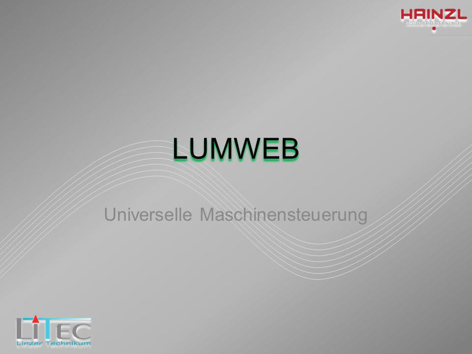 LUMWEB Universelle Maschinensteuerung