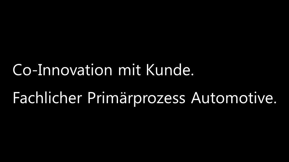 © 2013 Mieschke Hofmann und Partner Gesellschaft für Management- und IT-Beratung mbH14 Co-Innovation mit Kunde. Fachlicher Primärprozess Automotive.