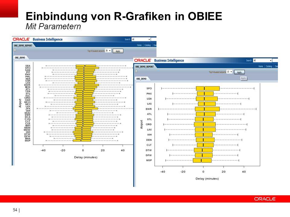 54 Einbindung von R-Grafiken in OBIEE Mit Parametern