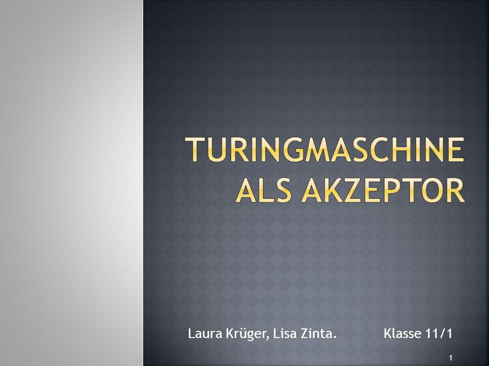 1 Laura Krüger, Lisa Zinta.Klasse 11/1