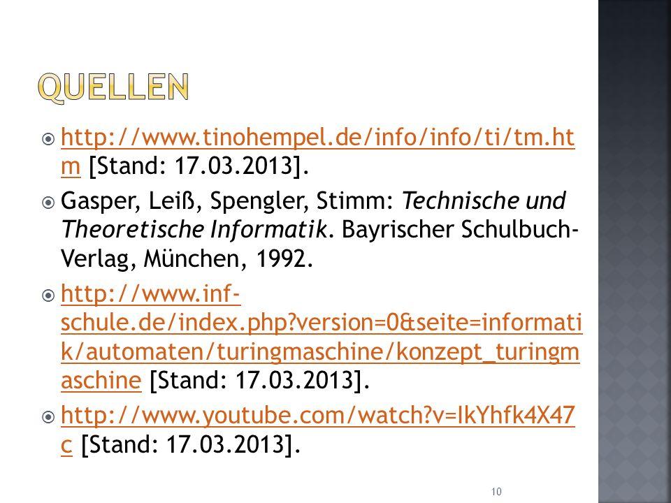 http://www.tinohempel.de/info/info/ti/tm.ht m [Stand: 17.03.2013]. http://www.tinohempel.de/info/info/ti/tm.ht m Gasper, Leiß, Spengler, Stimm: Techni