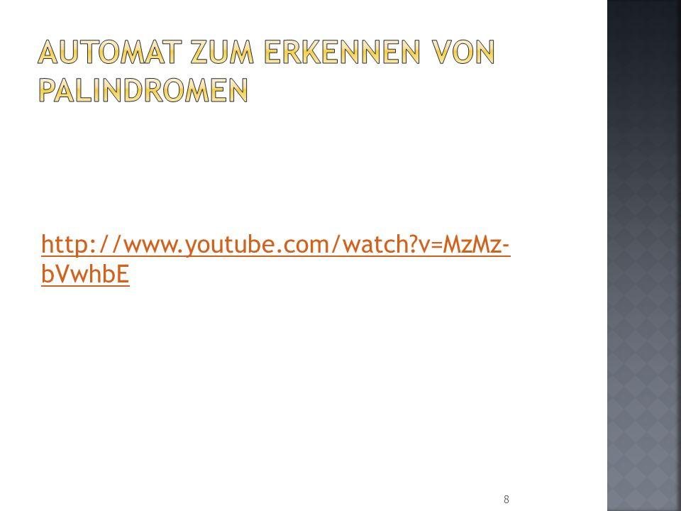 http://www.youtube.com/watch?v=MzMz- bVwhbE 8