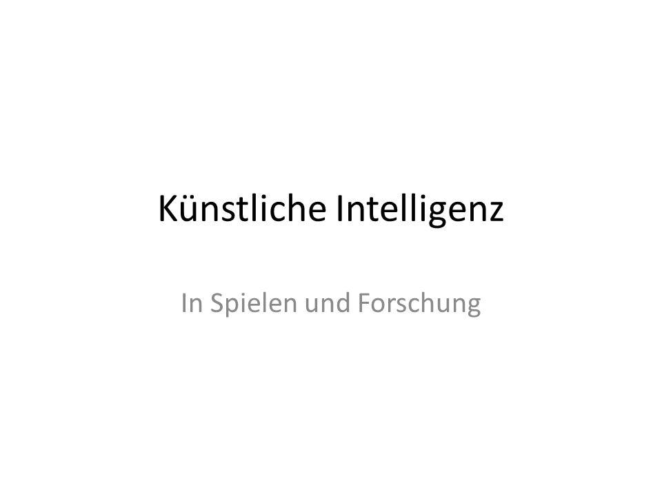 Künstliche Intelligenz In Spielen und Forschung
