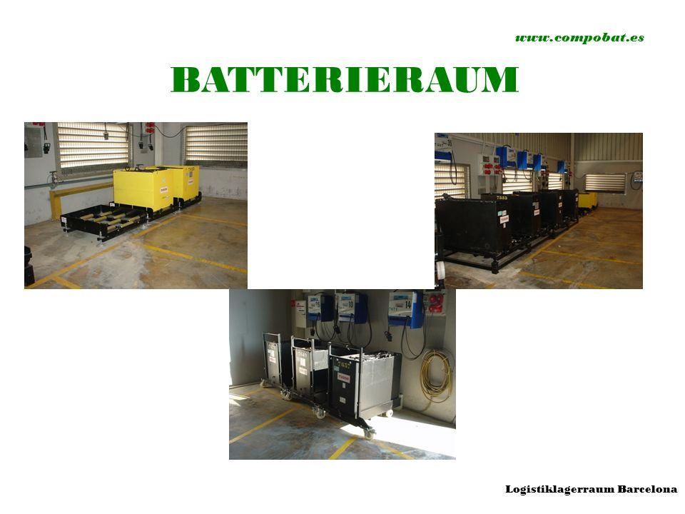 www.compobat.es BATTERIERAUM Logistiklagerraum Barcelona