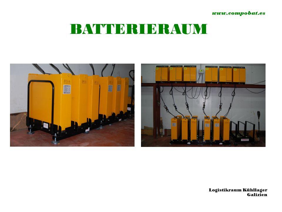 www.compobat.es BATTERIERAUM Logistikraum Kühllager Galizien