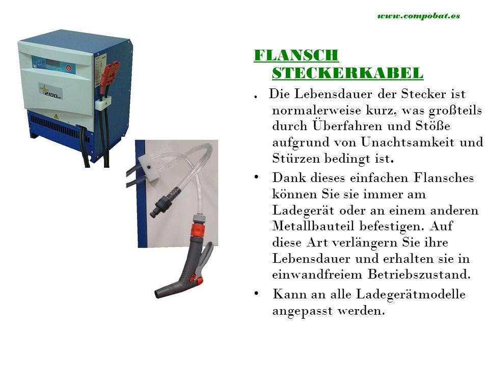 FLANSCH STECKERKABEL.