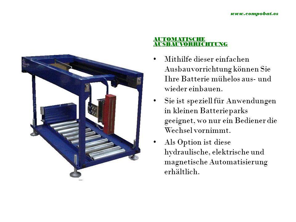 www.compobat.es BATTERIERAUM Logistikraum Kühllager Barcelona